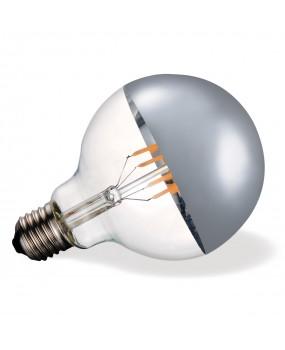 ΛΑΜΠΑ LED FILAMENT Φ95 7W E27 2700K ΑΣΗΜΙ