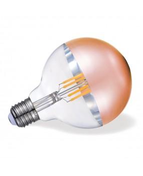 ΛΑΜΠΑ LED FILAMENT Φ95 7W E27 2700K ΧΑΛΚΟΣ