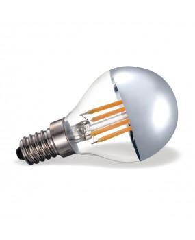 ΛΑΜΠΑ LED FILAMENT ΣΦΑΙΡ.4W E14 2700K AΣΗΜΙ