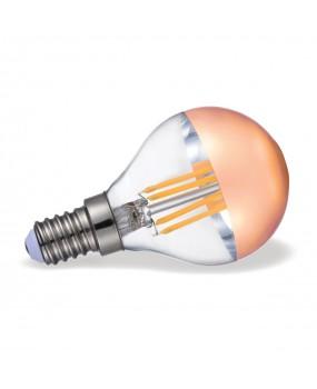 ΛΑΜΠΑ LED FILAMENT ΣΦΑΙΡ.4W E14 2700K XΑΛΚΟΣ