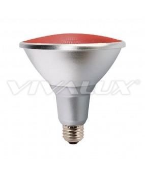 ΛΑΜΠΑ LED PAR38 15W E27 230V RED