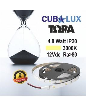 ΤΑΙΝΙΑ LED 12V 4.8W IP20 ΤΩRA 3000K 0003