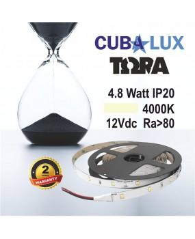 ΤΑΙΝΙΑ LED 12V 4.8W IP20 ΤΩRA 4000K 0002
