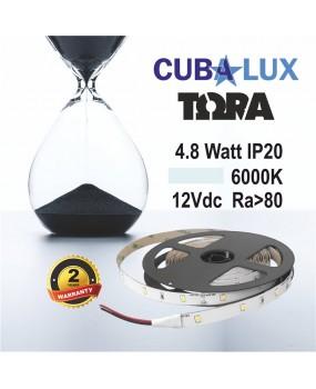 ΤΑΙΝΙΑ LED 12V 4.8W IP20 ΤΩRA 6000K 0001