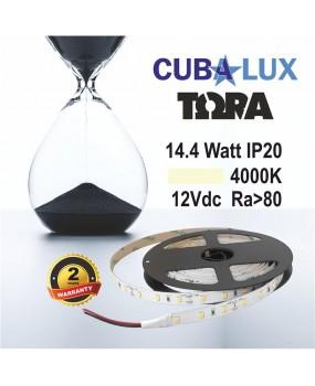 TAINIA LED 12V 14.4W IP20 TΩRA 4000K 0014