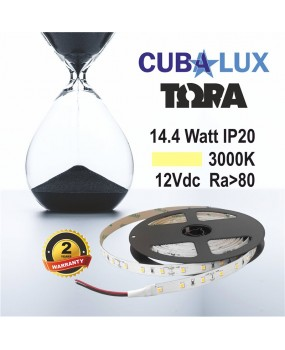 TAINIA LED 12V 14.4W IP20 TΩRA 3000K 0006