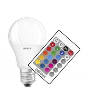 ΛΑΜΠΑ LED RGB 9W E27 REMOTE CONTROL OSRAM