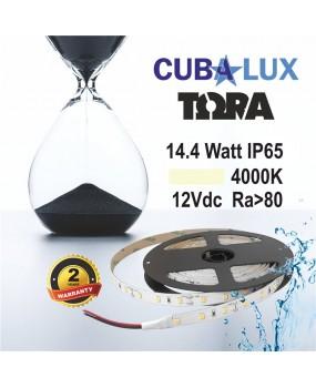 TAINIA LED 12V 14.4W 4000K IP65 TΩRA 0017
